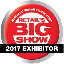 NRF Retail's Big Show 2017 Exhibitor Badge