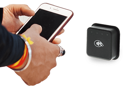 DynaWave Contactless Module for unattended kiosks