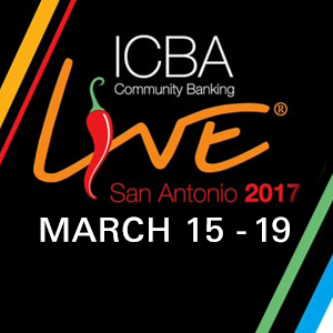 MagTek will be at the ICBA 2017 on March 15 - 19.