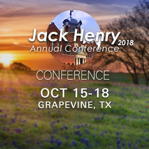 MagTek will be at the 2018 Jack Henry Annual Conference and TechConnect on October 14-18, in Dallas, TX